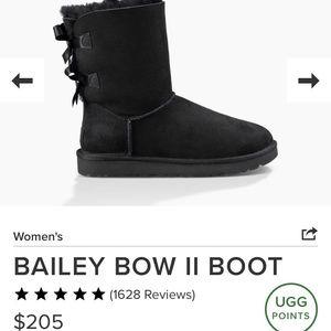 Bailey Bow UGGS 🖤🍂